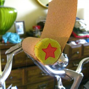 custom handlebar grips cork wrap