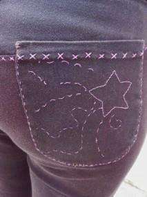 adventure pants back pocket