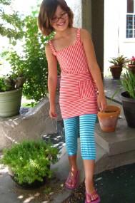allia striped dress