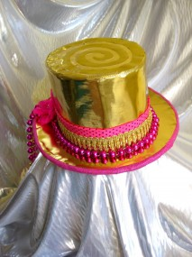 Recycled Gold Top Hat Made By Julianne
