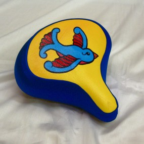 Swallow bicycle seat cover