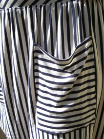 striped jersey pocket