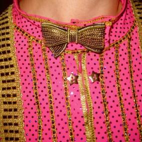 pink tux bowtie