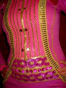 pink tux cummberbund