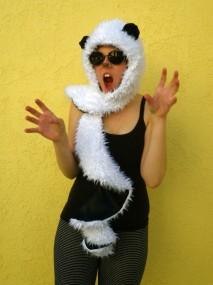 scary panda!