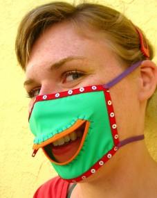 acid frog mask