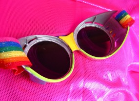 goggles detail