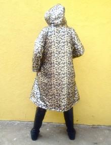 gold coat back
