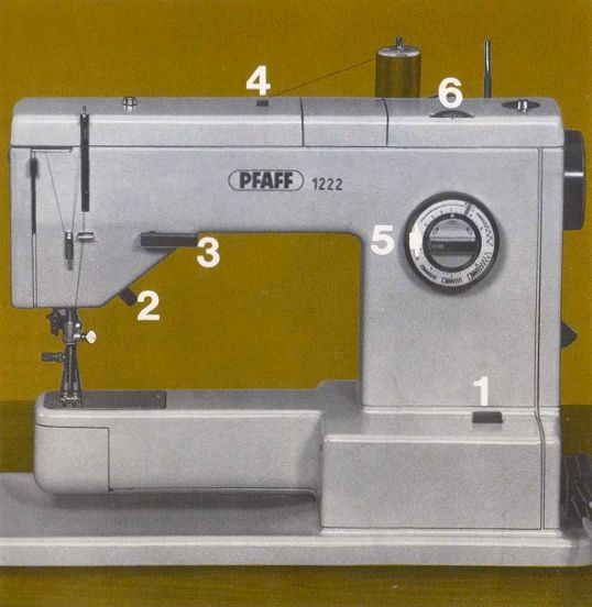 pfaff 1222e sewing machine