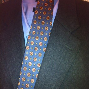 tie and suit to match