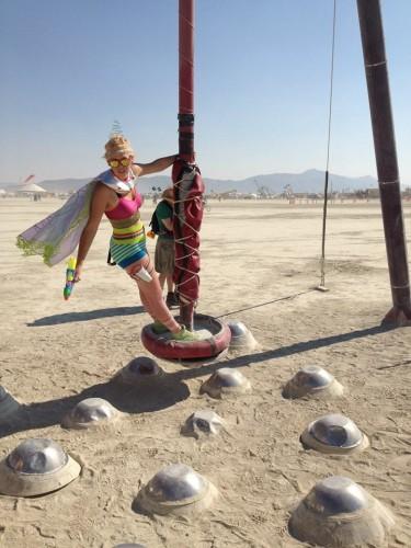 Starstuff pendulum, made by Julianne
