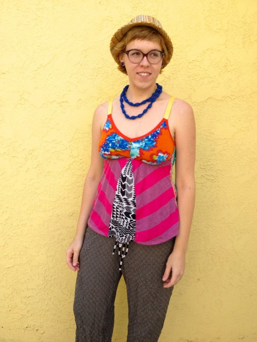 rainbow camisol, made by Julianne
