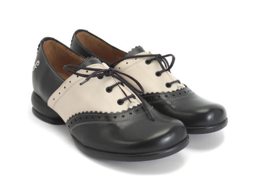 Fluevog saddle shoes