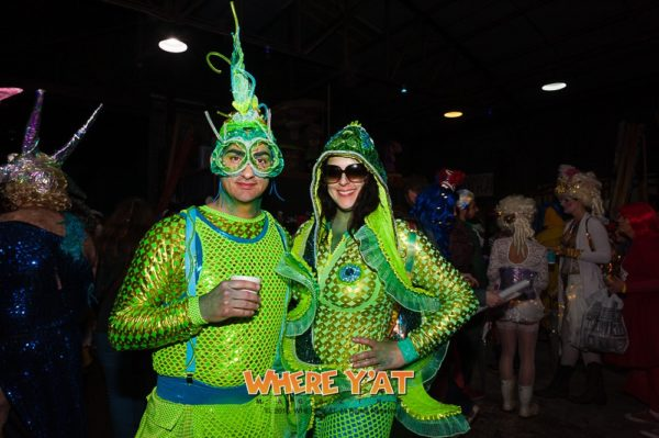 Lost Bayou Ravers, made by Julianne